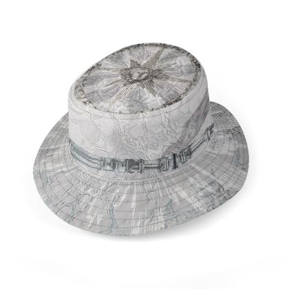 Apollo / Dark astrolabe - Reversible Hat
