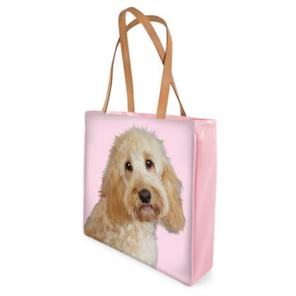 Cream COCKAPOO Shopper Bags