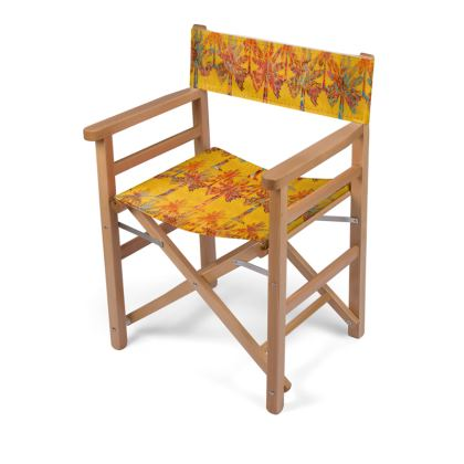 Oasis Collection in orange Directors Chair