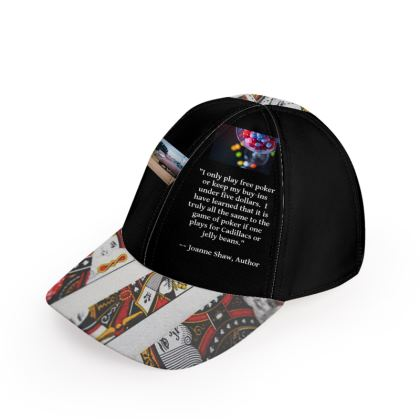Cadillacs and Jelly Beans Poker Baseball Cap
