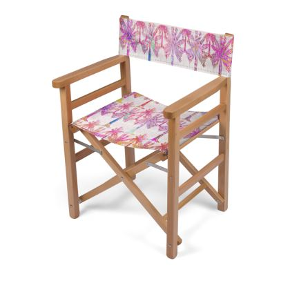 Oasis Collection in magenta Directors Chair