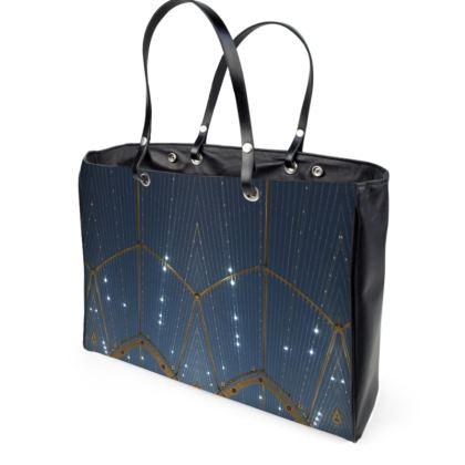 MALAGA Leather Handbag by Rachel Rosa ART