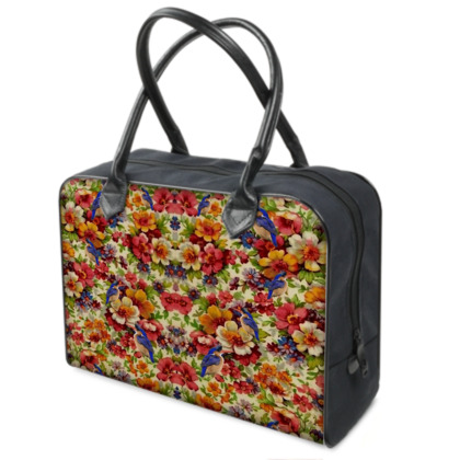 Kingfisher Chintz Weekender Bag