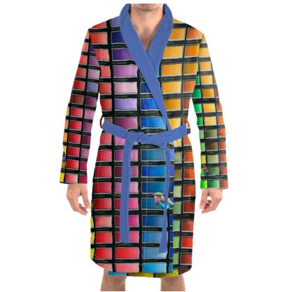 Colour Chart Dressing Gown