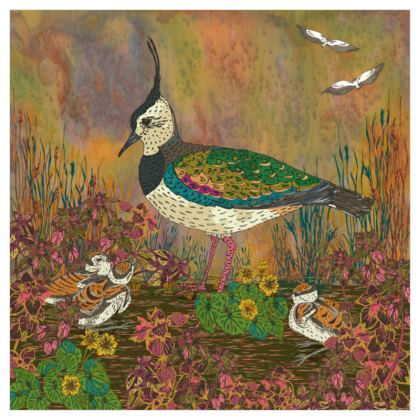Lapwing Design Fabric Printing