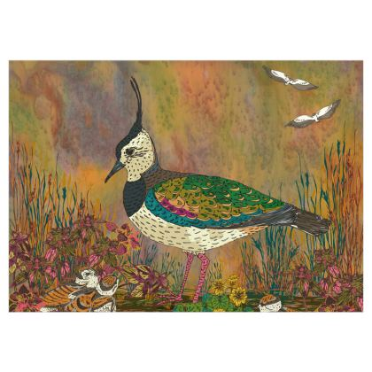 Lapwing Design Fabric Printing - Alternative Size
