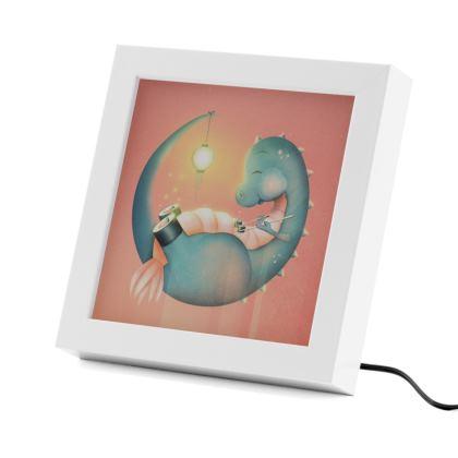 Sushi Dinosaur - LED Frame