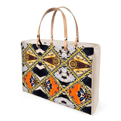343,- Handtasche AFRICAANS unwiderstehlich NEU und Mega dekorativ