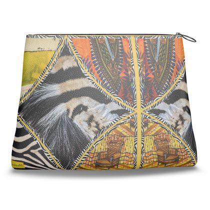 279,- Clutch-Tasche aus feinem italienischen Nappaleder