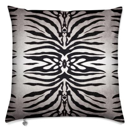 Zebra Mirror Cushion