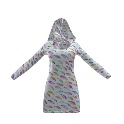 Tropical Fish Collection Hoody Dress