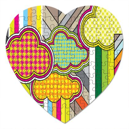 THE FACTORY OF COLORS, Heart Jigsaw