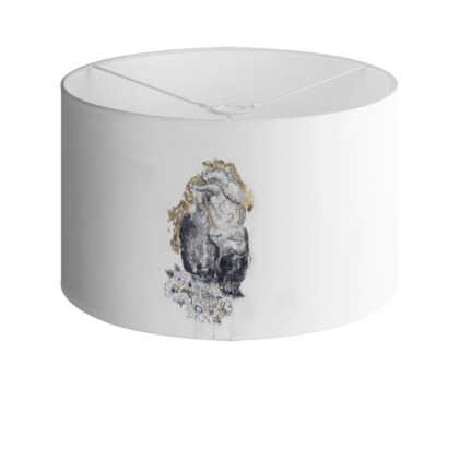 'Heart and Soul' Drum Lamp Shade