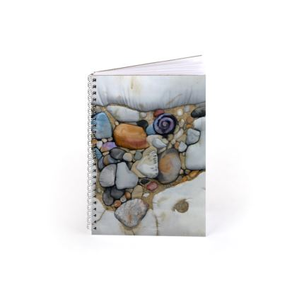 Rock Pool Spiral Note Book