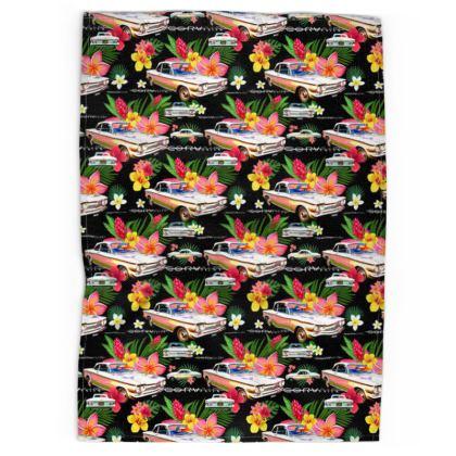 Black Hawaiian Corvair Tea Towels