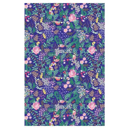 The Secret Garden Deep Blue Slip Dress