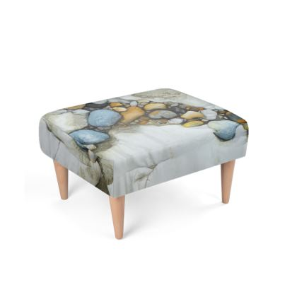 Curved Rockpool Footstool
