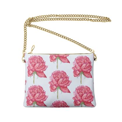 Peonie Crossbody Bag With Chain