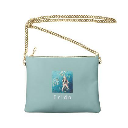 Modern day Frida Crossbody Bag With Chain