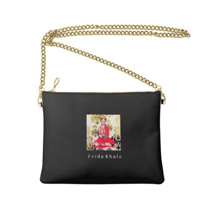FridaKhalo Crossbody Bag With Chain