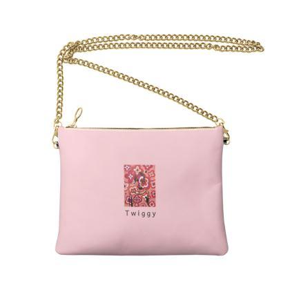 Twiggy Crossbody Bag With Chain