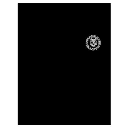 Alesi Apparel Stylish Robes- Black/White
