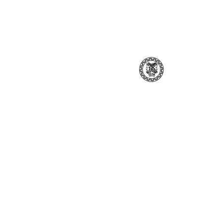 Alesi Apparel Stylish Robes- White/Black
