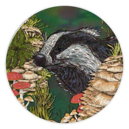 Badger China Plate
