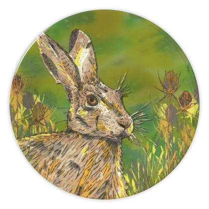 Summer Hare China Plate
