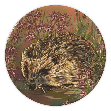 Hedgehog China Plate