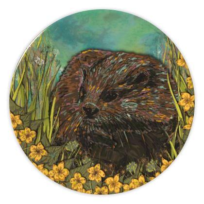 Otter China Plate
