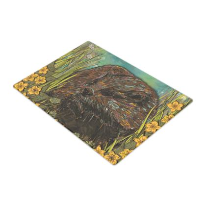 Otter Glass Chopping Board