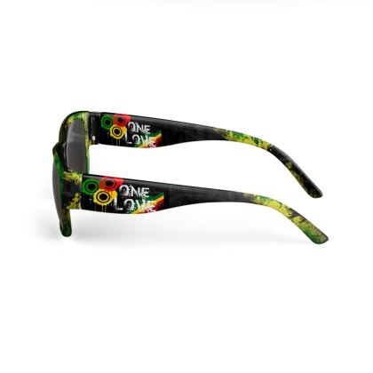 """Lunettes de soleil """"ONE LOVE"""" collection JAMDUNG FASHUN"""