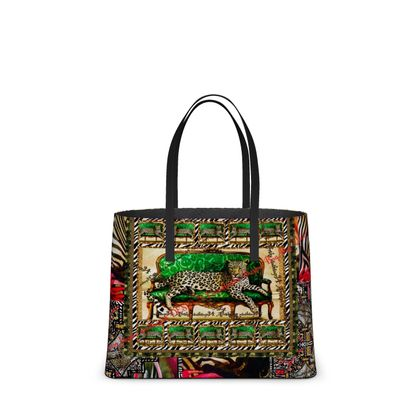 DESIGNER Nappaleder tote Bag im Birkinbag Style RETRO tote Bag aus Leder