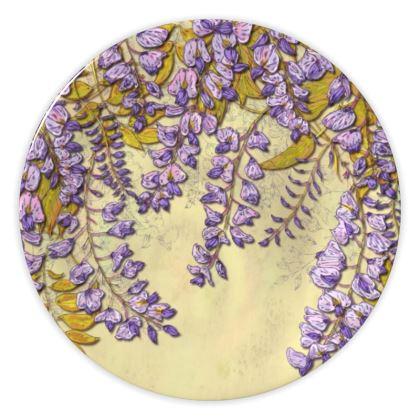 Wisteria China Plate
