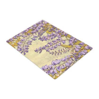 Wisteria Glass Chopping Board