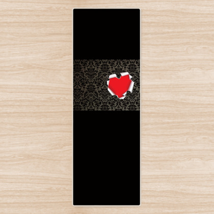 I Give You My Heart Yoga Mat
