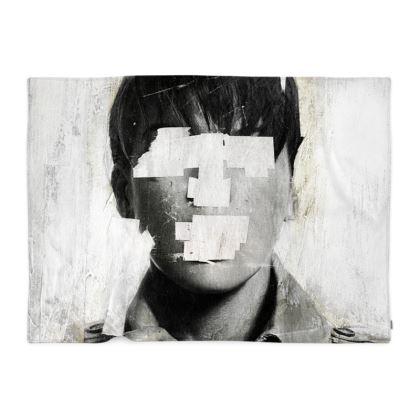 'Faceless No 2' Blanket