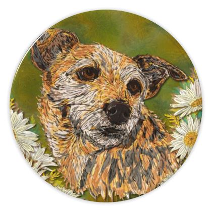 Border Terrier China Plate