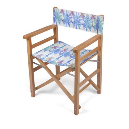 Oasis Collection in blue Directors Chair