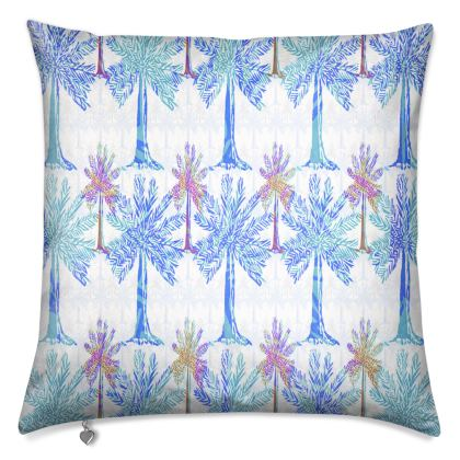 Oasis Collection in blue Luxury Cushion