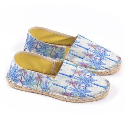 Oasis Collection in blue Espadrilles