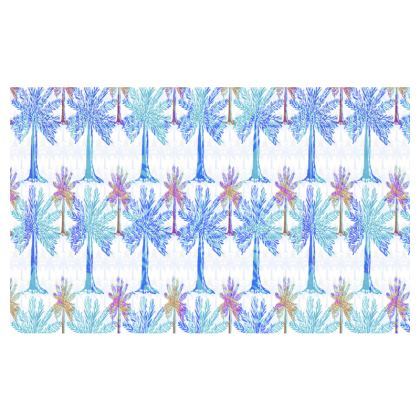 Oasis Collection in blue Zip Top Handbag
