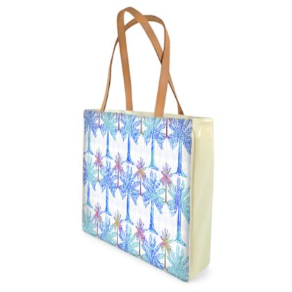 Oasis Collection in blue Shopper Bag
