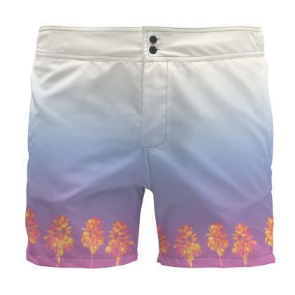 Palm Trees Collection Board Short