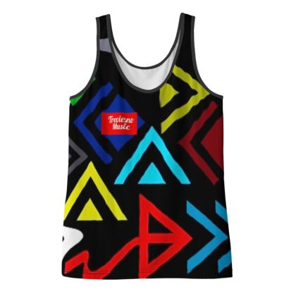 Trevieno Music/ Wapi Hapo Design Ladies Vest Top