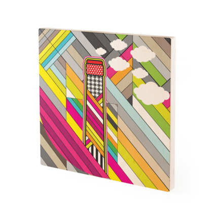 THE FACTORY OF COLORS, Wood Prints