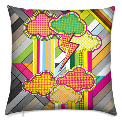 THE FACTORY OF COLORS, Cushions