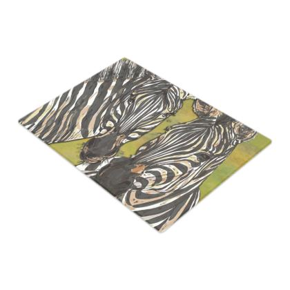 Zebras Glass Chopping Board