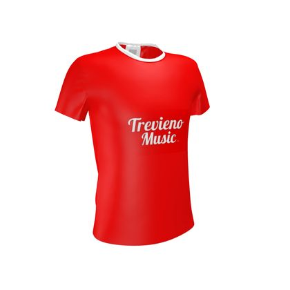 Trevieno Music (Red)  T Shirt
